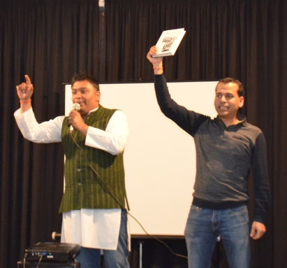 Mr Manoj Bhura and Mr. Natwar Tibrewal at its best - Auction time